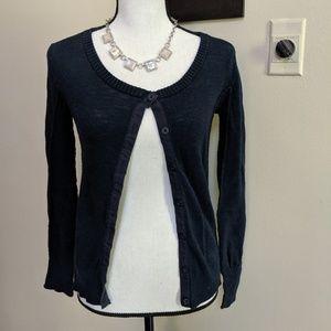 Thin Navy Sweater
